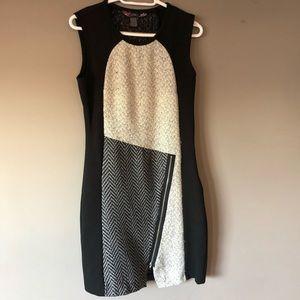 Desigual knit dress size 40 - size 10 black